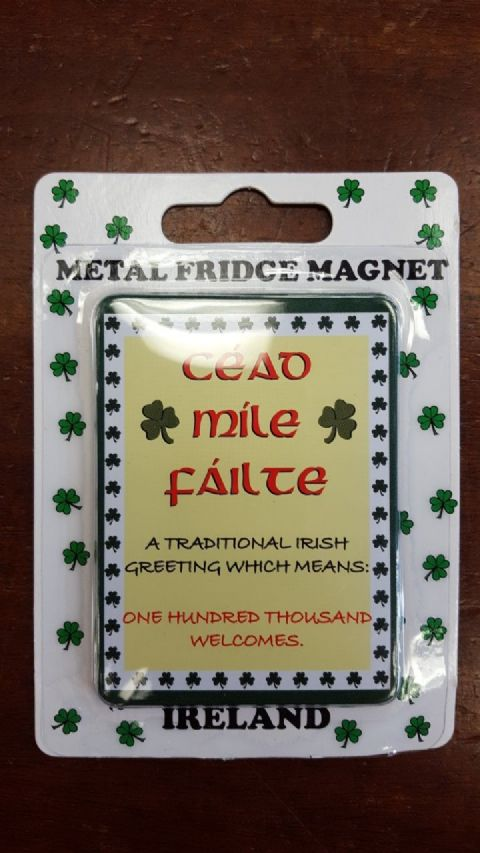 Liffey Artefacts Irish Magnet - Cead Mile Failte